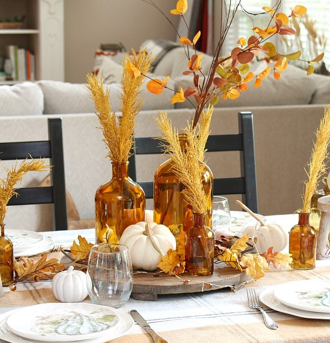 Harvest Moon Fall Tablescape Ideas