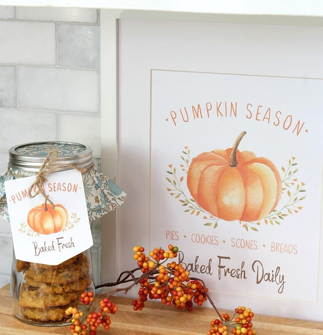 Pumpkin Season Free Fall Printables