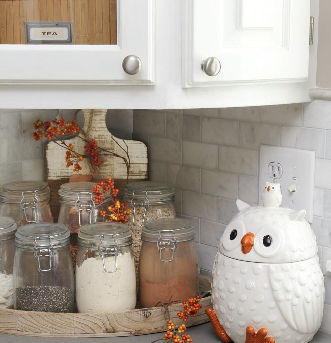 Fall Kitchen Home Tour - Clean and Scentsible - End Of Lease ...