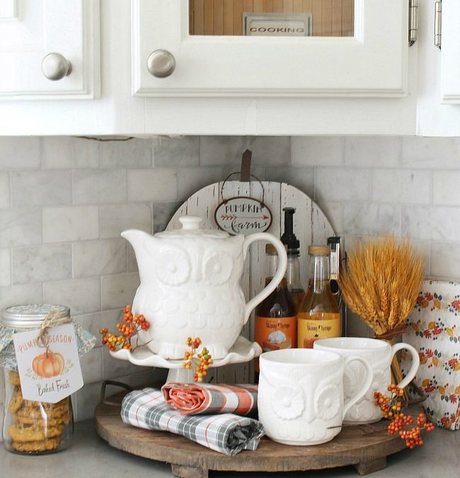 Fall Beverage Bar – Clean and Scentsible