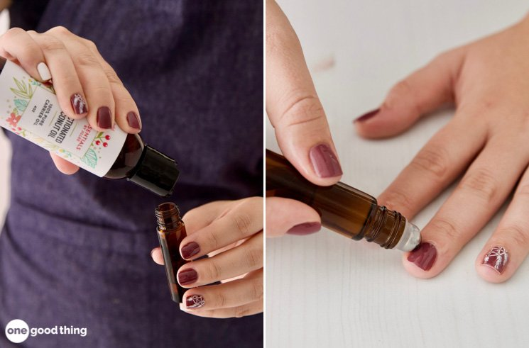 How To Make Cuticle Oil For Stronger Nails · One Good Thing by Jillee