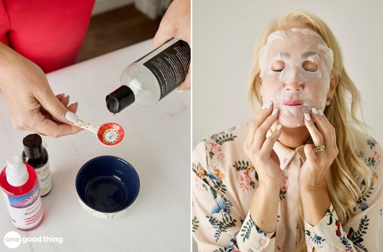 How To Make A DIY Sheet Mask · One Good Thing by Jillee