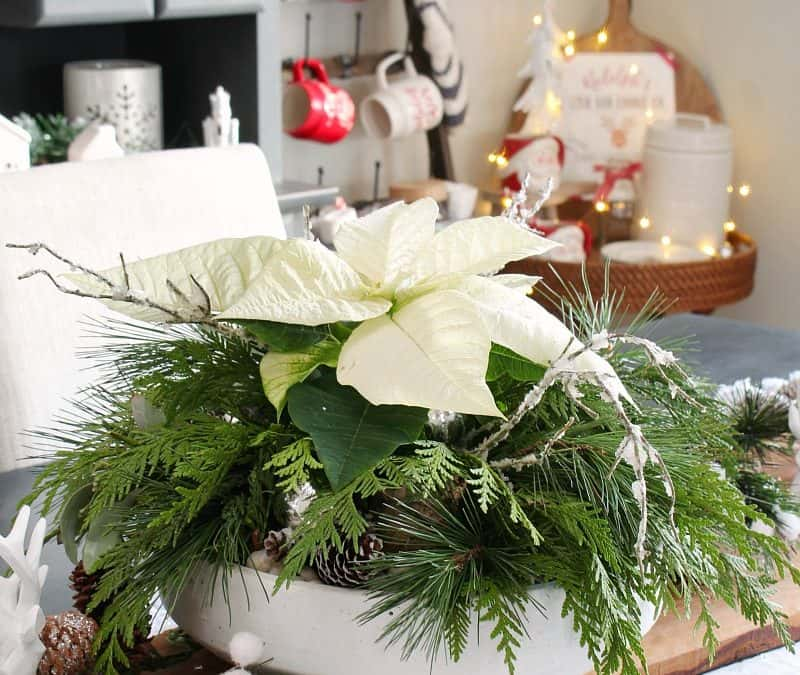 DIY Christmas Centerpiece – Clean and Scentsible