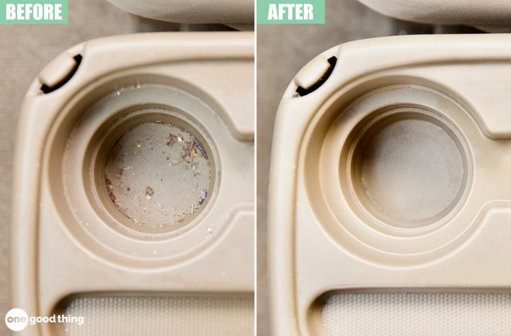 How To Clean Your Car's Grimy Cupholders In Seconds